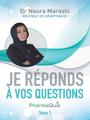 "cover image of ""Je réponds à vos questions"""